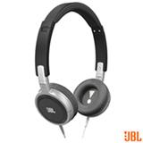 Fone de Ouvido JBL Headphone Preto e Prata - T300A