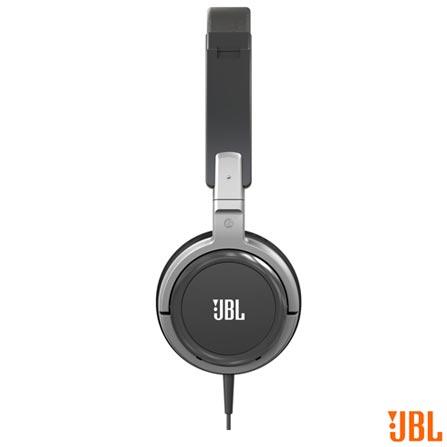 Fone de Ouvido JBL Headphone Preto e Prata - T300A, Preto e Prata, Headphone, 12 meses