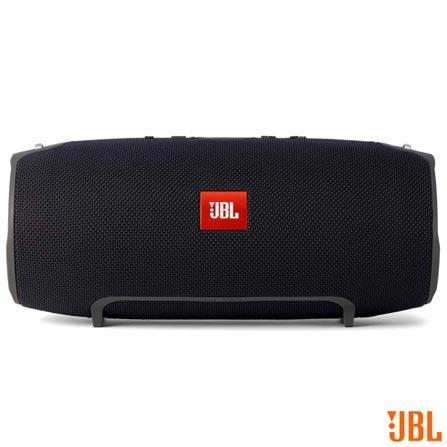 Caixa Bluetooth JBL Xtreme com Potência de 40 W - JBXTREME, Bivolt, Bivolt, Preto, Caixas Portáteis, Sim, 40 W, Sim, Não, iOS e Android, 12 meses