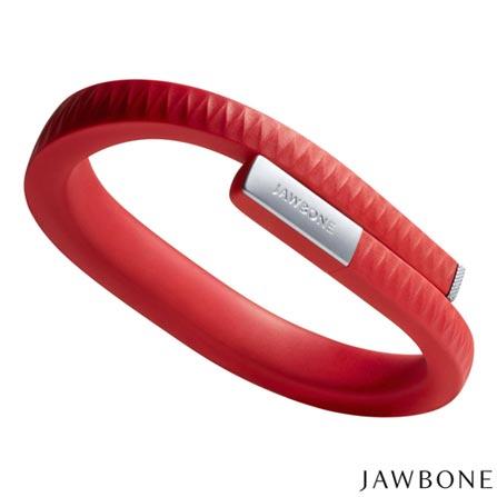 Pulseira Jawbone UP, Tamanho M Vermelha - R02AMDBR, SmartWatch, TPU, Vermelho, 03 meses