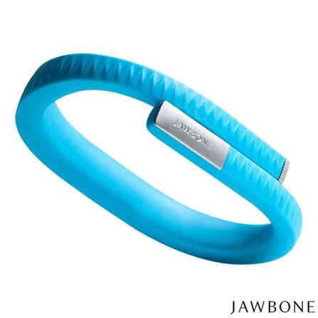 Pulseira UP, Compatível com os Sistemas iOS 5.1 e Android 4.0, Tamanho M Azul - Jawbone - R06AMDBR, Azul, Sim, 03 meses