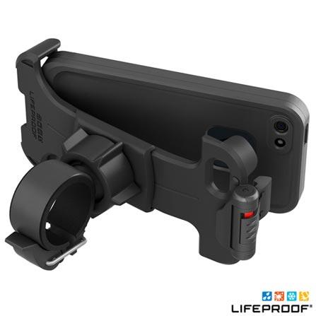 Suporte de Bicicleta para Iphone 5 e 5s Preto - Lifeproof - 1358, Plástico
