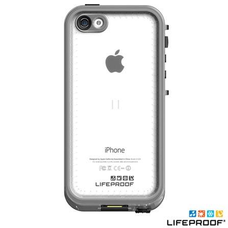 Capa Nuud para iPhone 5c Preta - Lifeproof - 2002-01, 12 meses