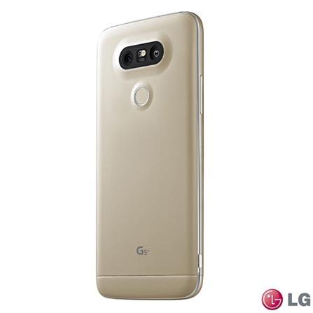 """Smartphone LG G5 Dourado com Tela de 5,3"""", 4G, 32 GB e Câmera de 16 MP - H840, Dourado, 0000005.30, True, 1, N, True, True, True, True, True, True, I, G5, Android, Wi-Fi + 4G, 5.3'', Acima de 4'', Sim, Qualcomm Snapdragon 652, 32 GB, 16.0 MP, 1, Não, Sim, Sim, Não, Sim, 12 meses, Nano Chip"""