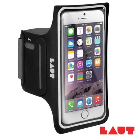 Braçadeira Esportiva para iPhone 6 e 6s Laut Elite-LD Preto - LT-IP6/6SELDBKI, Preto, 03 meses