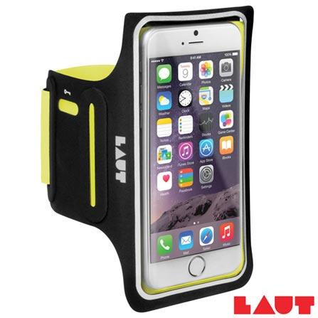 Braçadeira Esportiva para iPhone 6 e 6s Laut Elite-LD Amarela - LT-IP6/6SELDYEI, Amarelo, 03 meses