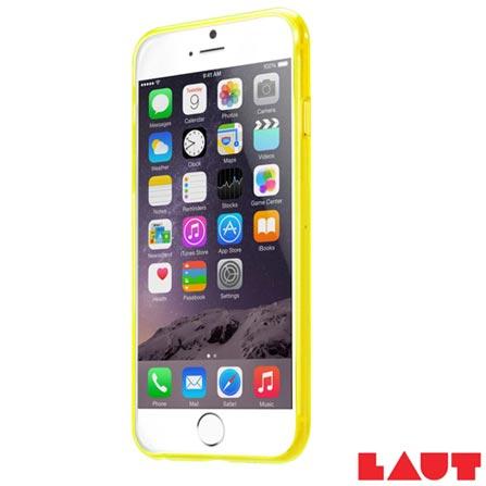 Capa Protetora para iPhone 6 e 6s Laut Lume Amarelo com 02 Películas - LT-IP6/6SLUYEI, Amarelo, Capas e Protetores, 03 meses