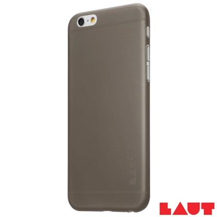Capa Protetora para iPhone 6 e 6sLaut Slimskin Preto com 02 Películas - LT-IP6/6SSLBKI, Preto, Capas e Protetores, 03 meses