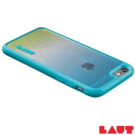 Capa Protetora para iPhone 6 e 6s Laut Solstice Azul com 02 Películas  - LT-IP6/6SSOBUI, Azul, Capas e Protetores, 03 meses