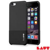 Capa Protetora para iPhone 6 e 6s Laut Un1form Preto com 02 Películas - LT-IP6/6SUNBKI