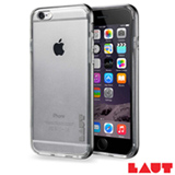 Capa para iPhone 7 em TPU com Aro de Aluminio Cinza com 02 Peliculas Plasticas - Laut - LT-IP7EX