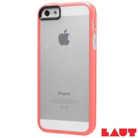 Capa para iPhone SE Rosa com Película Plástica - Laut - LT-IPSEPKI, Rosa, Capas e Protetores, 03 meses