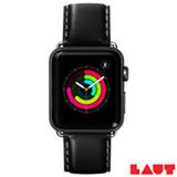 Pulseira para Apple Watch 42/44 mm Oxford em Couro Napa Preto - Laut - LT-AWLOXBKI