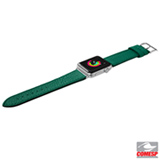 Pulseira para Apple Watch 38/40 mm Milano em Couro Italiano Esmeralda - Laut - LT-AWSMLGNI