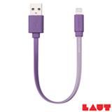 Cabo Lightning para iPhone, iPad e iPod Link Duo com 15 cm Violeta Laut - LT-LKDLTN15PUI