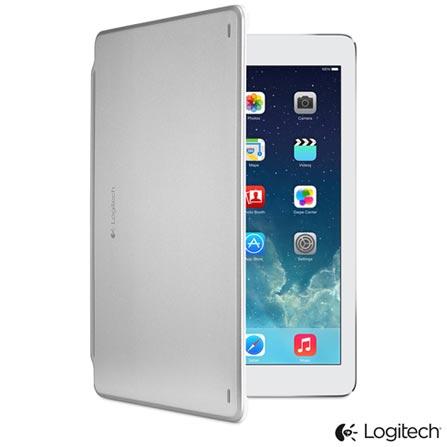 Capa e Teclado Logitech Ultrathin Cover Branca para iPad Air - 920-006200, Branco