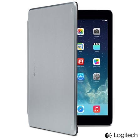 Capa e Teclado Logitech Ultrathin Cover Preta Carbono para iPad Air - 920-006215