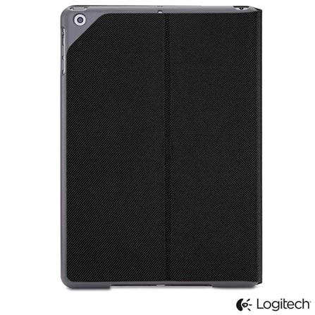 Capa Logitech Hinge Folio Preta para iPad Air - 939-001051