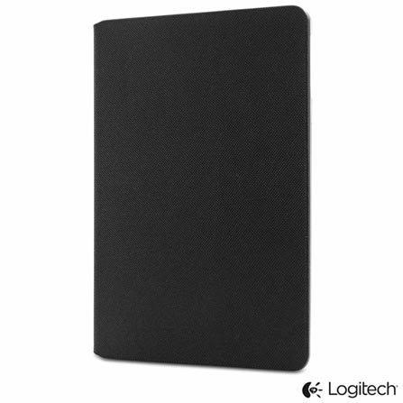 Capa Logitech Hinge Folio Preta para iPad mini - 939-001056