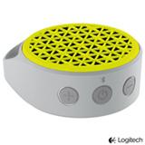Caixa de Som Bluetooth X50 Amarela - Logitech