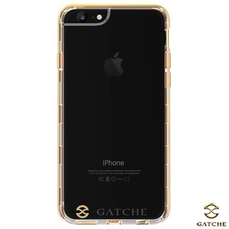 Capa Hibrida para iPhone 7, 6 e 6s de Poliuretano Dourada - Gatche - GAT-10IP7YGLD, 220V, Dourado, Capas, Cases e Mochilas, 12 meses