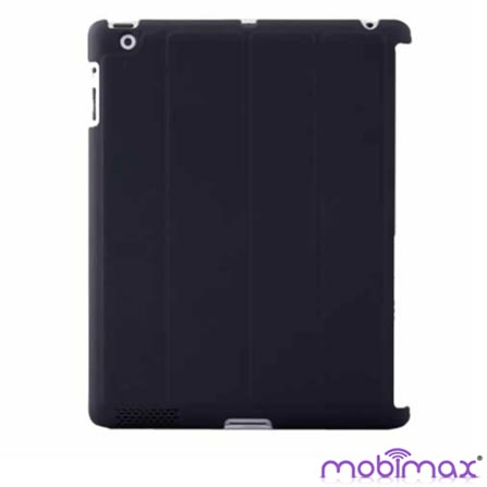 Capa Traseira e Protetor de Tela para iPad 2, 3, 4