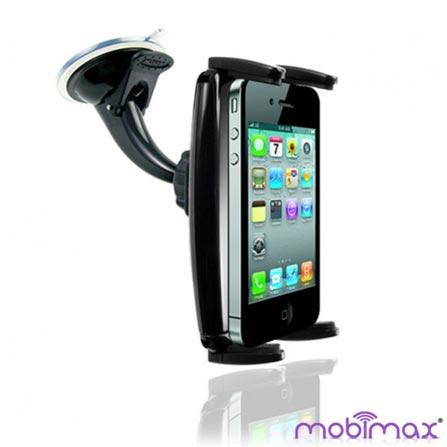 Suporte Veicular Universal C para iPhone Mobimax, Preto