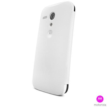 Capa para Moto G Flip Shells Paper Branca - Moulinex - 11221N, Branco, Plástico, 03 meses