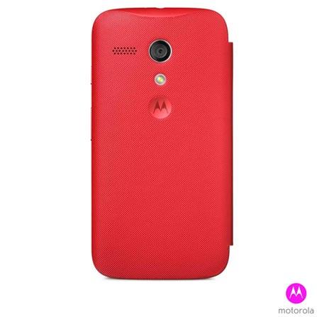 Capa para Moto G Flip Shells Vivid Vermelho - Motorola - 11222N, Vermelho, Plástico, 03 meses