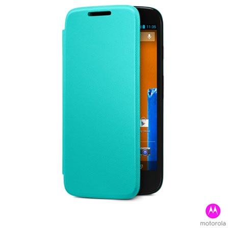 Capa para Moto G Flip Shells Turquesa - Motorola - 11223N, Azul, Capas e Protetores, Plástico, 03 meses