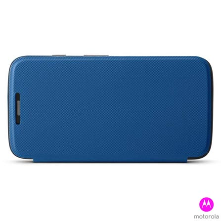 Capa Flip Shells para Moto G Motorola Azul - Moulinex - 11224N, Azul, Plástico, 03 meses
