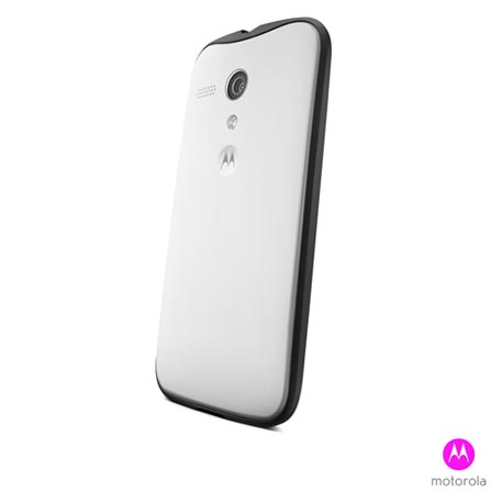 Capa Grip Shells para Moto G Motorola Paper Branca - Moulinex - 11228N, Branco, Plástico, 03 meses