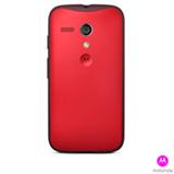 Capa Grip Shells para Moto G Vivid Red - Motorola - 11229N