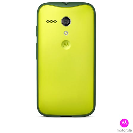 Capa Grip Shells para Moto G Verde - Motorola - 11231N, Verde, Plástico rígido e Couro sintético, 03 meses