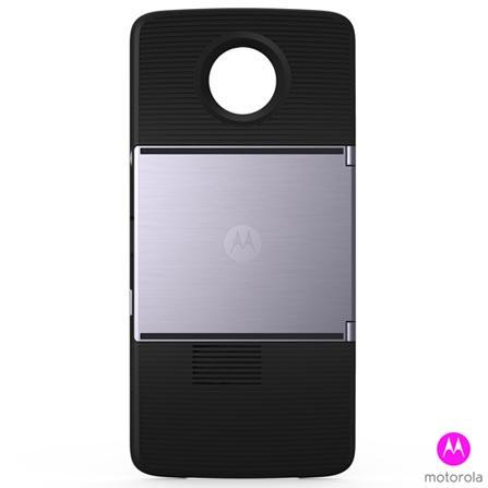 Capa com Projetor para Moto Z Moto Insta-Share Projector Preto - Motorola - 11275NBR, Preto, Capas e Protetores, Silicone, 12 meses
