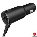 Carregador Veicular Turbopower Quick Charger 25 W Preto - Motorola - MO-89833NI