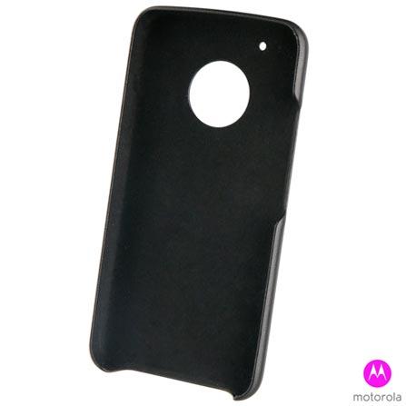 Capa para Moto G5 Plus Preta - MO-MMBKC0008I + Pelicula - MO-MMTPG0014I + Carregadorl 2200 mAh Preto - TR-21221I, 0