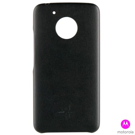 Capa para Moto G5 Preta Motorola - MO-MMBKC0010 + Pelicula em Vidro Motorola + Carregador 2200 MAH - Trust, 1