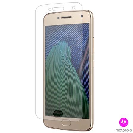 Capa para Moto G5 Plus Transparente - MO-MMCRY0009I + Pelicula Protetora em Vidro - MO-MMTPG0014I - Motorola, 1