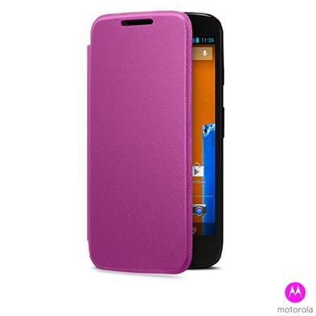 Smartphone Moto G Colors Dual Preto com 16GB + Capa Grip Shells para Moto G Royal Blue + Capa Flip Shells Violet, 0, Android acima de 4''