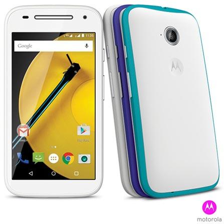 "Smartphone Moto E 2ª G. Branco 4.5"", 4G, 16 GB, 5 MP + Smartphone Moto E DTV 2ª G. Branco 4.5"", 4G, 16 GB, 5 MP, 0, Android acima de 4''"