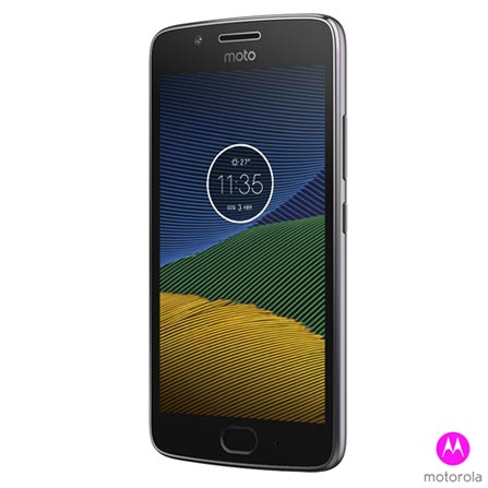 Moto G5 Platinum tela 5, 4G, 32GB, 13MP - XT1672 + Pelicula em Vidro - MO-MMTPG0016I + Capa Transparente - MO-MMCRY0011, 1