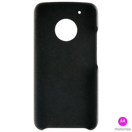 Capa Protetora para Moto G5 Plus em Policarbonato Preta - Motorola - MO-MMBKC0008I, Preto, Capas e Protetores, Policarbonato, 03 meses