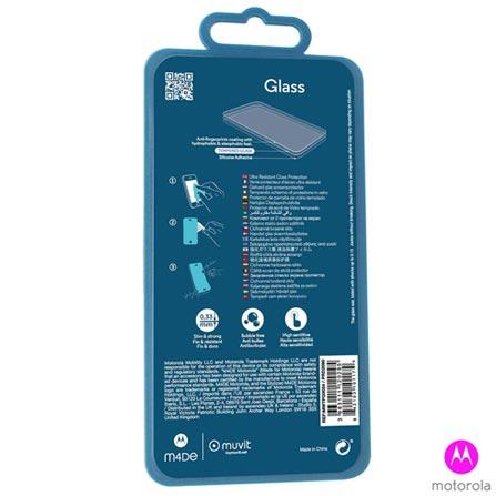 Película Protetora para Moto E4 de Vidro Temperado Transparente - Motorola - MO-MMTPG0024I, Não se aplica, Películas, Vidro, 03 meses