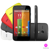 "Smartphone Motorola Moto G Colors Preto com 4,5"", 3G, Android 4.3, Quad-Core 1,2 GHz, 16 GB e Câmera de 5.0 MP"