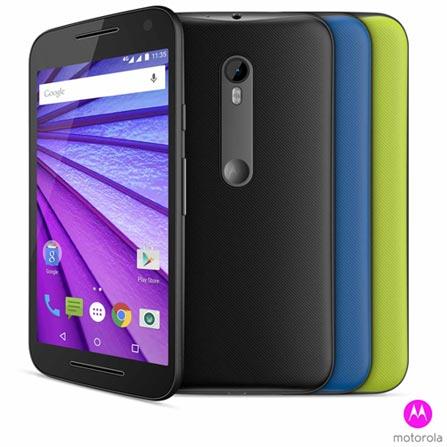 """Moto G 3ª Geração Colors HDTV Dual Preto Motorola, com Tela de 5"""", 4G, 16 GB e Câmera de 13 MP - XT1544, Bivolt, Bivolt, Preto, 0000005.00, True, 1, N, True, True, True, True, True, True, I, Micro Chip"""