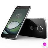 Moto Z Play Power Edition Preto com Prata Motorola, com Tela de 5,5, 4G, 32GB e Câmera de 16MP - XT1635