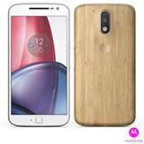 """Moto G4 Plus Bamboo com tela de 5,5"""", 4G, 32 GB e Câmera de 16 MP - XT1640"""