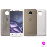 Moto Z Power Edition Branco com Dourado Motorola com tela de 5,5, 4G, 64 GB e Camera de 13 MP - XT1650
