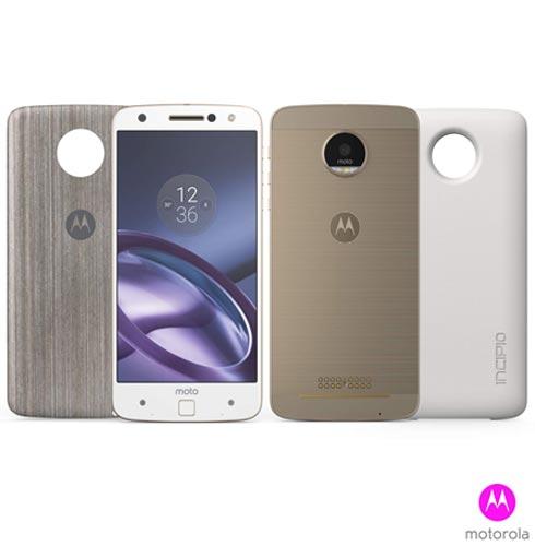 Oferta ➤ Moto Z Power Edition Branco com Dourado Motorola com tela de 5,5, 4G, 64 GB e Camera de 13 MP – XT1650   . Veja essa promoção